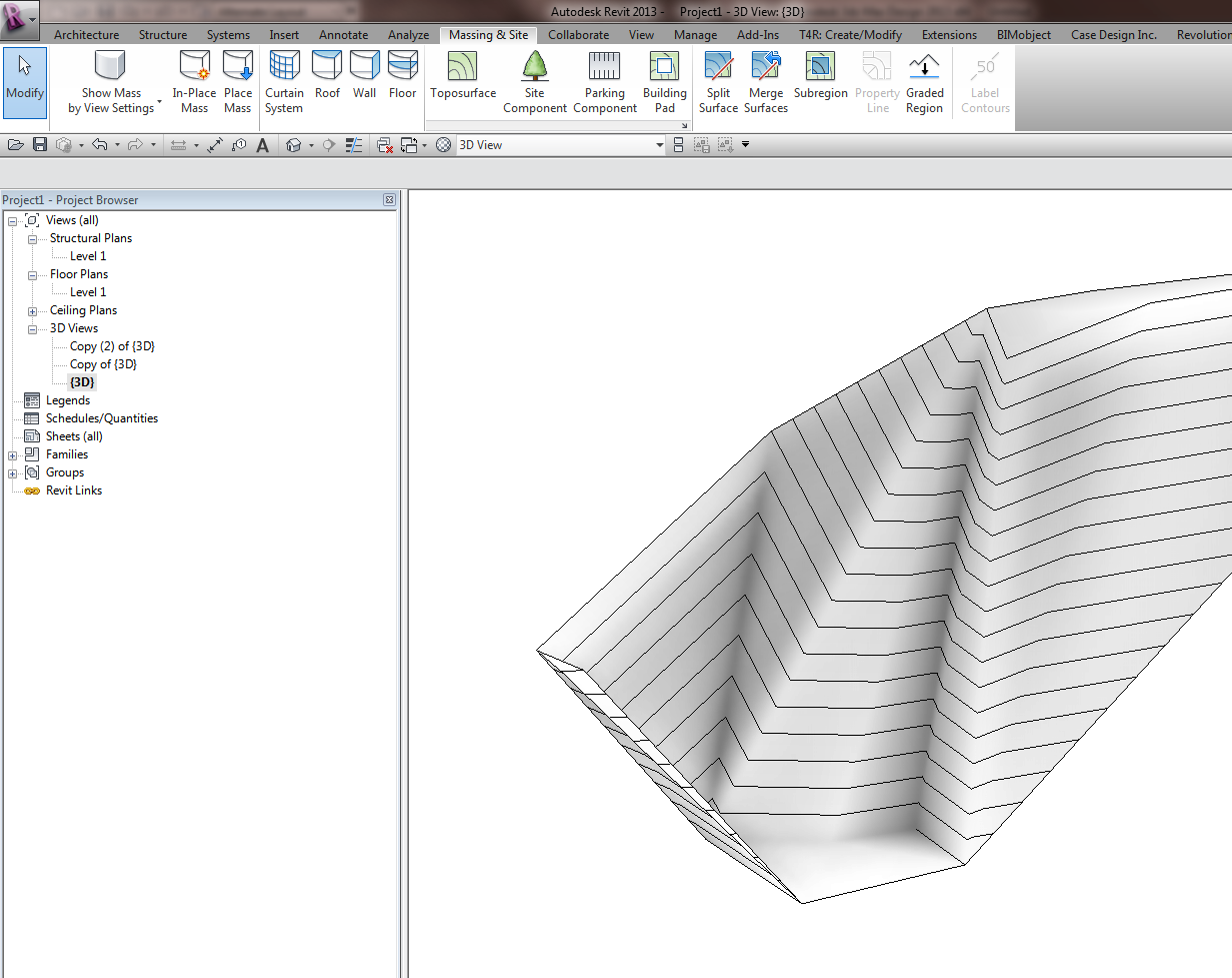What Revit Wants: Using meshmixer to morph your Revit Topography
