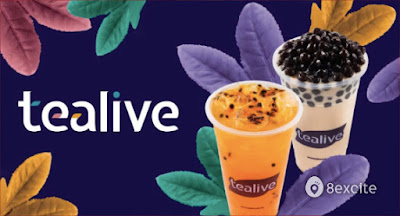 RM3 for RM6.50 Drink Voucher at Tealive