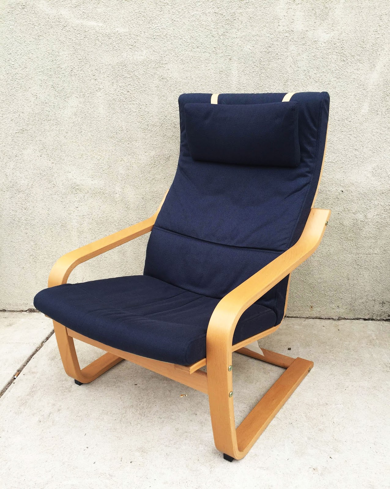 Uhuru furniture collectibles ikea lounge chair 65 sold for Ikea club chair