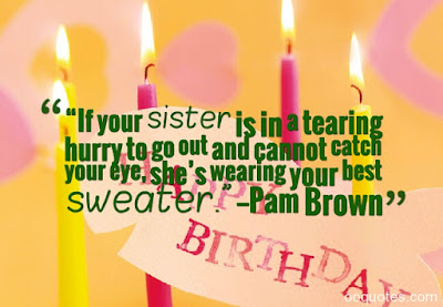 sister birthday funny quotes