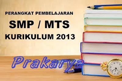 RPP Prakarya, Silabus Prakarya, Program Tahunan (Prota), Program Semester (Promes), KKM (Kriteria Ketuntasan Minimal)