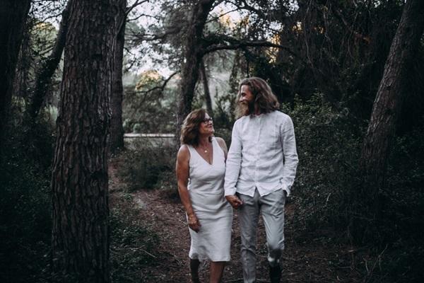 El novio y la madrina