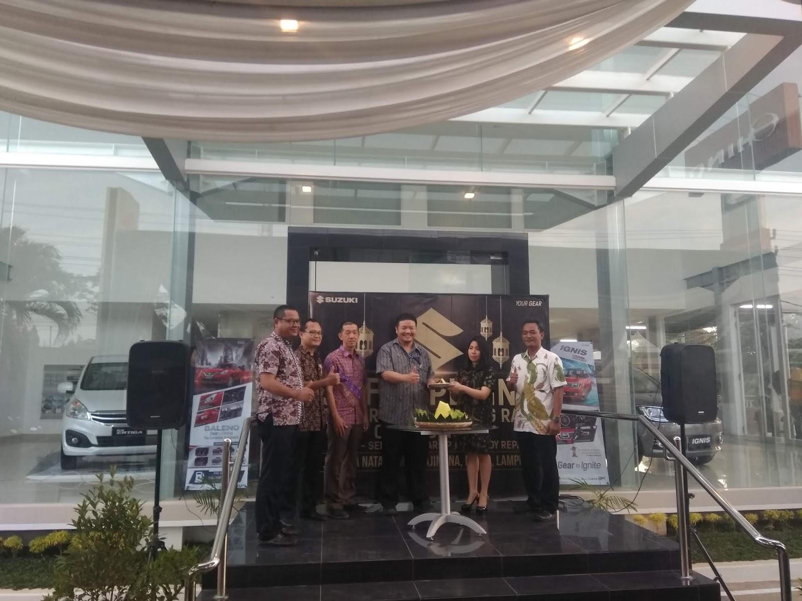 Suzuki Persada Lampung Raya Resmikan Dealer Ke Sembilan Di Natar, Lampung