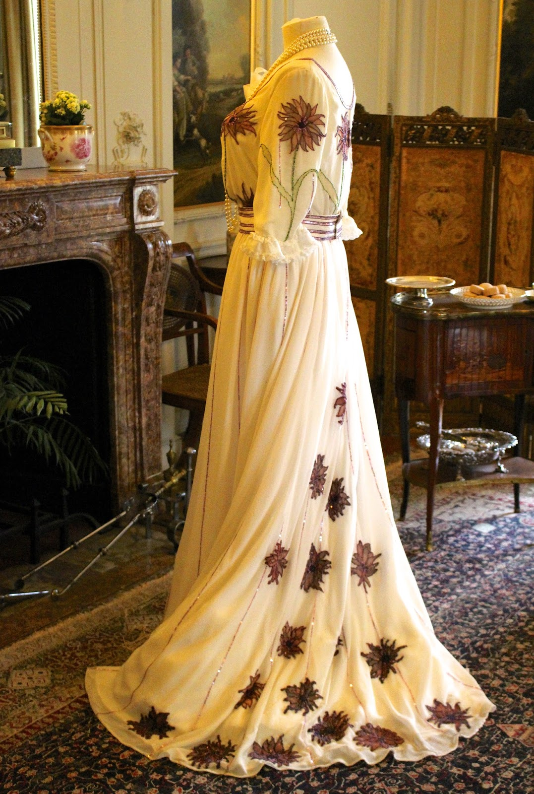 Ladies dress costume at polesden lacey