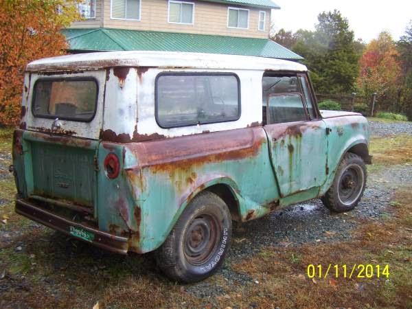 Restoration Project Cars 1966 International Harvester