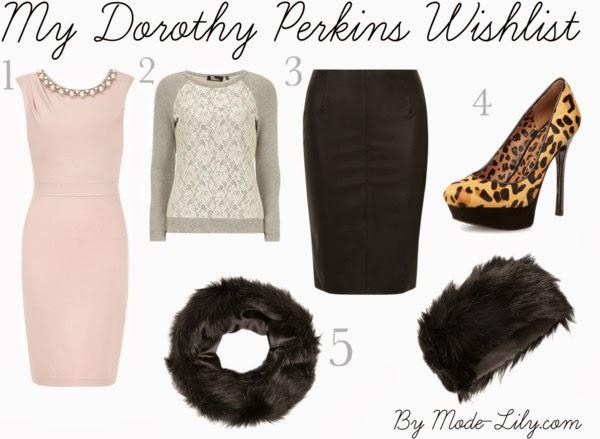My Dorothy Perkins Wishlist