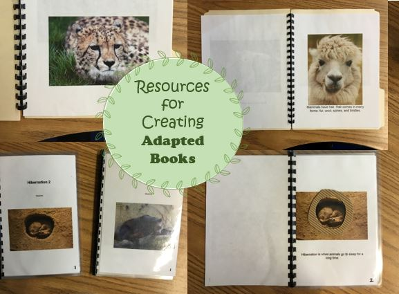 Little Miss Kim's Class: Resources for creating adapted books