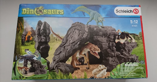 Schleich Dino Set with Cave - Review