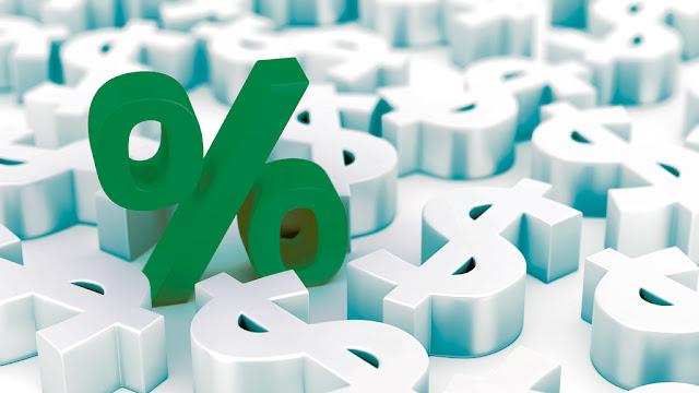 Rendimentos de 1% ao mês