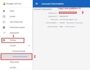 Cara Memasang Ads txt Di Blogger Dan Mengatasi file ads.txt Error Di Google Adsense