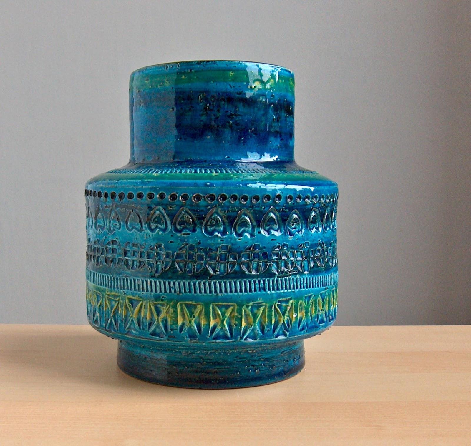 Potshots Rimini Blue Vases By Bitossi Rediscovered