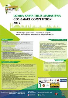 Lomba Karya Tulis Geo-Smart Competition 2017