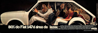 propaganda  Fiat 147 - 1977, Fiat ano 77, Fiat década de 70, carros anos 70, Oswaldo Hernandez,