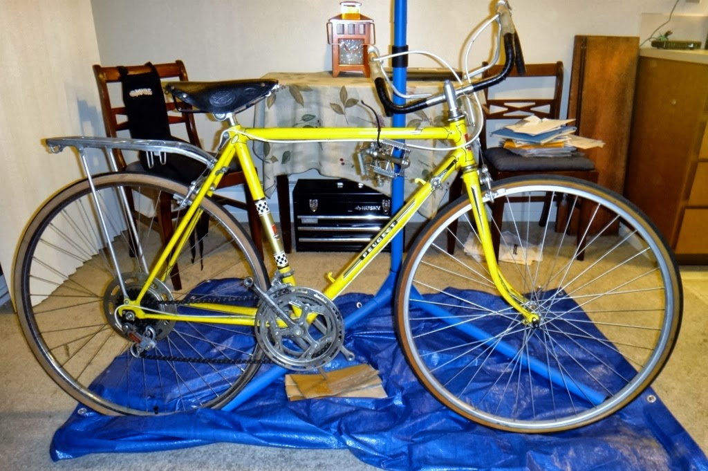 Ryan's Rebuilds: In the work-stand: 1969 Peugeot AO-8