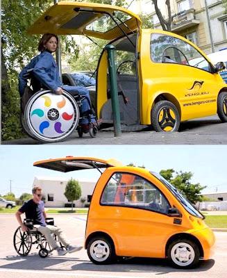 Idea Rekaan Kreatif - kereta untuk oku