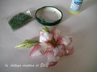 come personalizzare un fiore in sospeso trasparente