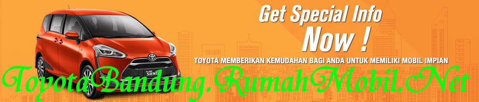 Daftar Harga Toyota Sienta OTR Bandung