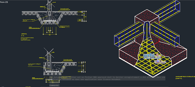 Sole detail in AutoCAD