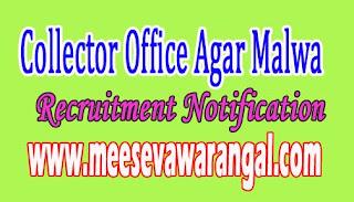 Collector Office Agar Malwa Recruitment Notification