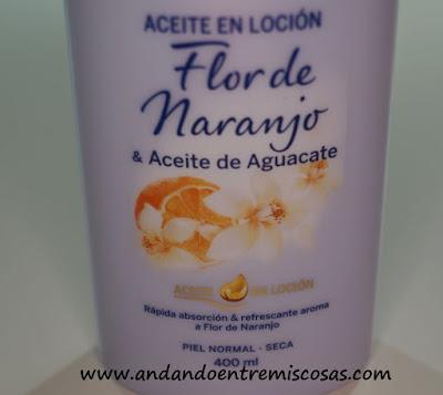 Aceite En Loción, Flor De Naranjo De Nivea