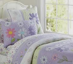 Pottery Barn Flower For A Lavender Purple Bedding Set Or