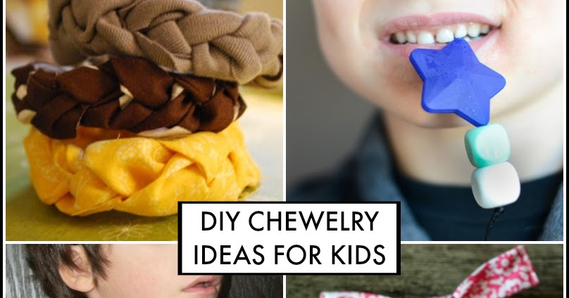 Diy Chewelry For Kids Who Chew On Everything Oral Motor