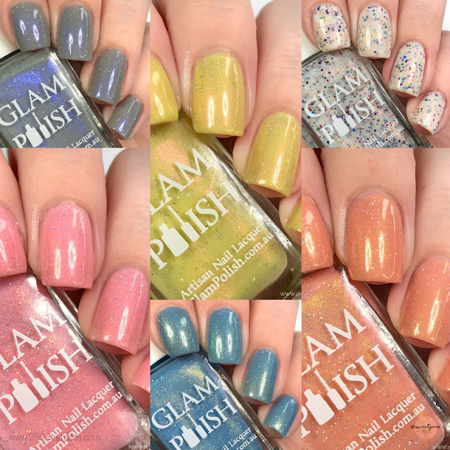 Glam Polish Hundred Acre Wood Collection