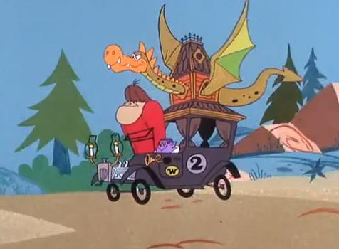 nothing but cartoons wacky races see saw to arkansas