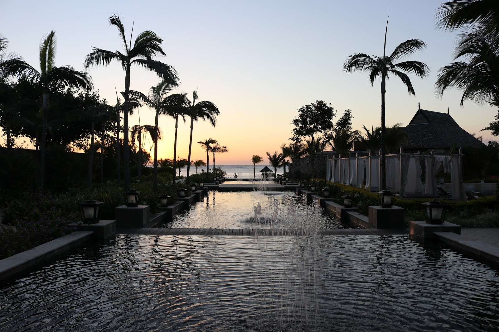 Sunset St Regis