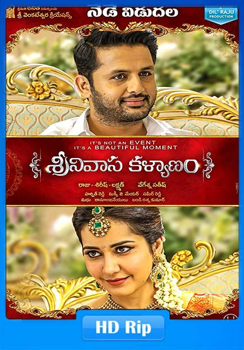 Srinivasa Kalyanam 2019 720p HDRip Hindi Dubbed ESubs | 480p 300MB 100MB HEVC