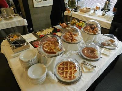 DUPARC contemporary suites colazione