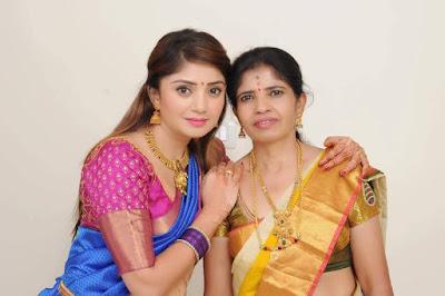 Karunya Ram with Mother