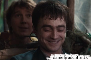 Swiss Army Man clip: Daniel starts laughing while filming a scene