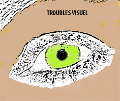 Troubles visuels et la dégradation visuelle
