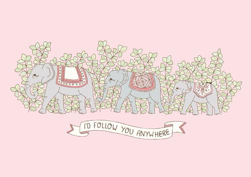 Emma Margaret Illustration Elephant 2016