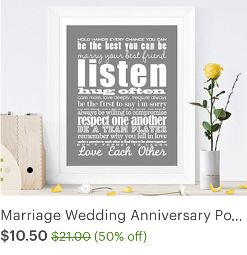 #love #art #home #decor #graphic #typography #wedding #gift #subway #valentine #valentines