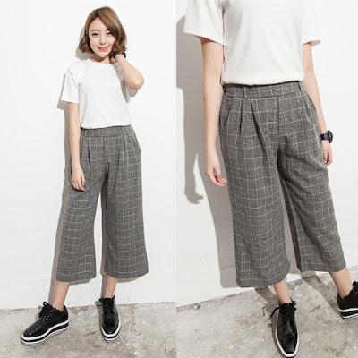 Fashion Wanita Celana Kulot