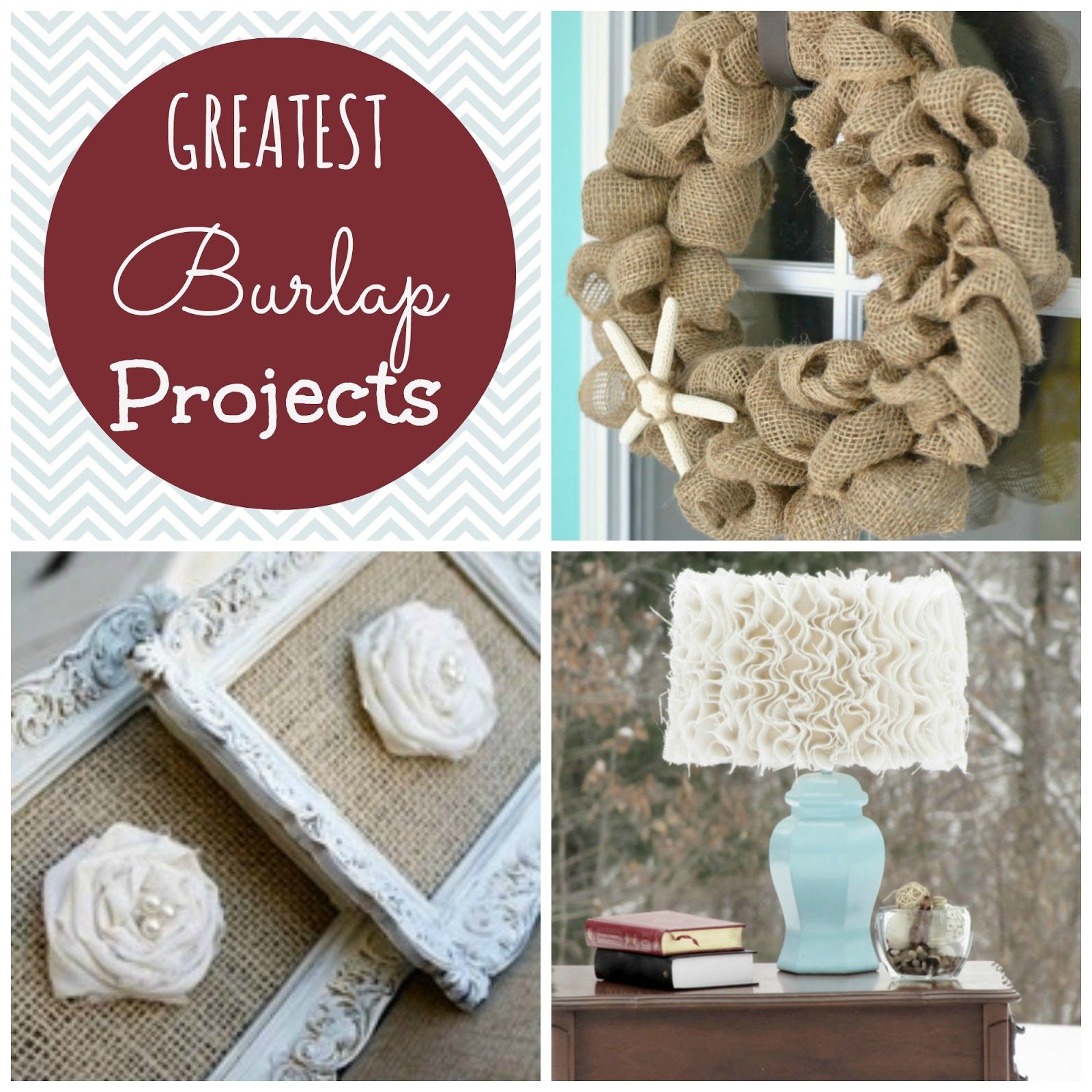 Couches And Cupcakes: Greatest DIY Burlap Project Ideas