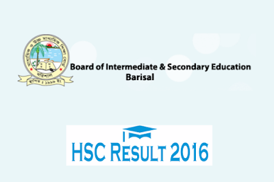 HSC result 2016 Barisal board