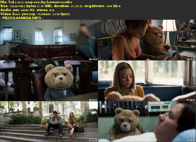 Descargar Ted 2 Subtitulado por MEGA.