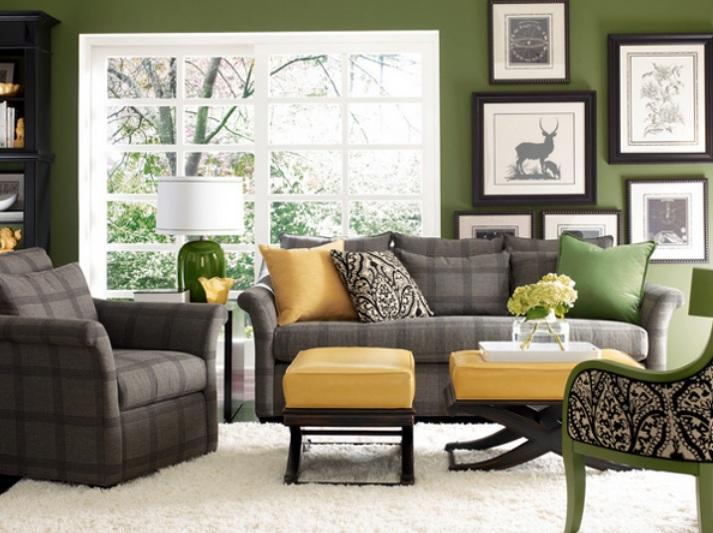 10 Schöne Graue Und Grüne Wohnzimmer Wohnzimmer Grun Grau
