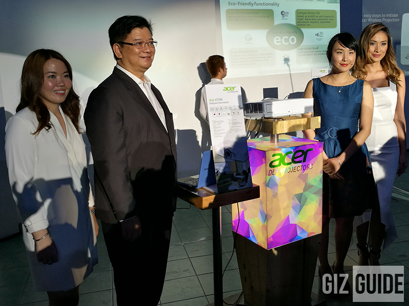Acer Intros High Performance ES-12 And X117H DLP Projectors In The Philippines!
