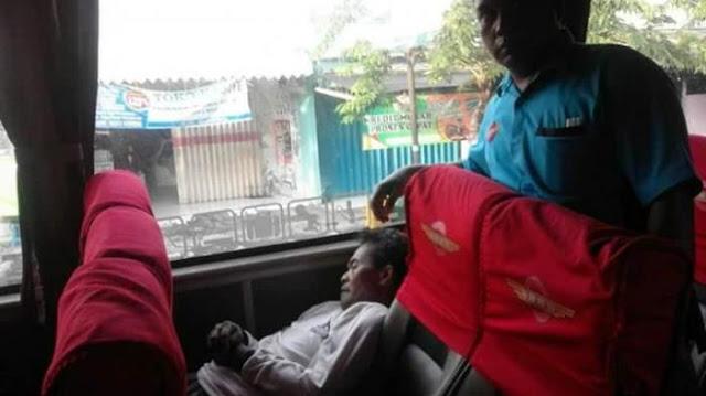 Meninggal Di Bus Jurusan Yogyakarta-Banyuwangi, Lelaki Ini Masih Belum Diketahui Identitasnya
