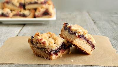 Raspberry Crumb Bars