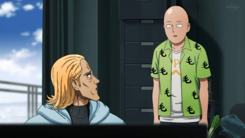 「ワンパンマン」2期  第1話
