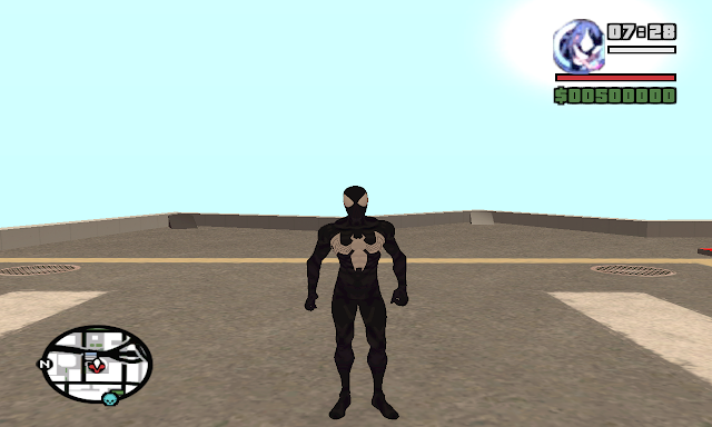 Spiderman Mod With Powers for GTA San Andreas