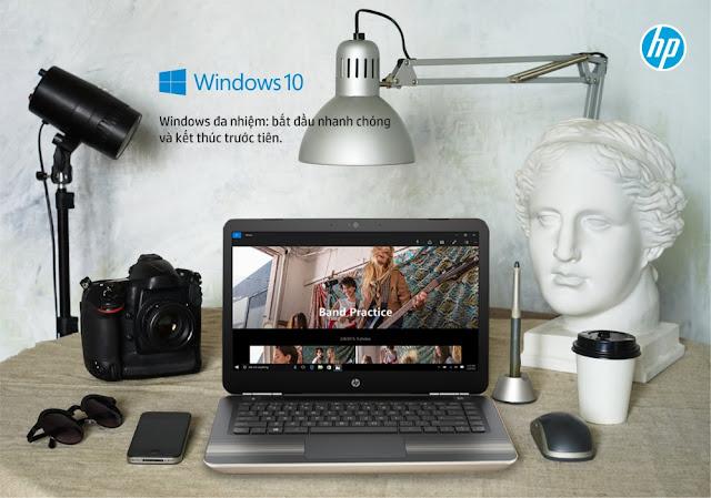 Cùng laptop HP tham gia vào hoat động hè rực rỡ