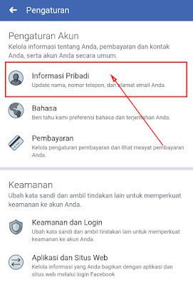 Cara Mengubah Nama di Facebook di HP Lewat Aplikasi 4