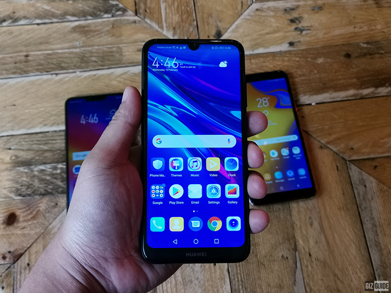 Y6 Pro 2019 screen