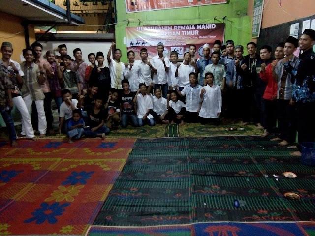 RKI dan Humas PKS Medan Timur Ajak Remaja Masjid Buat Program Sosial Kemasyarakatan